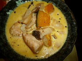 簡単 *鶏胸肉とかぼちゃのクリーム煮*