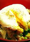 新食感⁉ポーチドエッグで親子丼♪