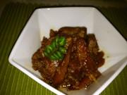 鶏ごぼうの醤油麹煮込みの写真