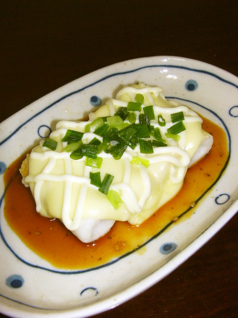 簡単♡調理2分!節約ちくわステーキ