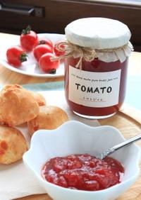 煮るだけ簡単☆トマト缶でトマトジャム☆