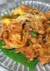 韓国☆ヤンニョム豚カルビ(豚肉の辛炒め)