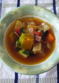 汗だく野菜スープ~秋バージョン~