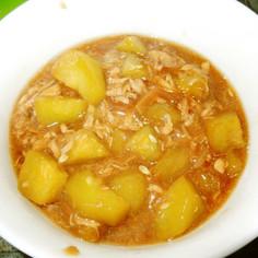 ツナと瓜のしょうが煮