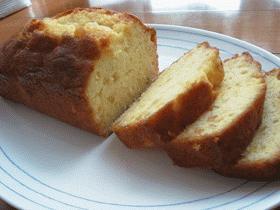 オレンジパウンドケーキ