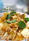 冬瓜と豆腐の和風マーボー