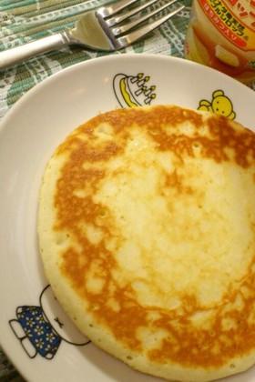 卵なし★モチモチの白いパンケーキ。