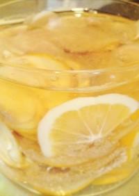 レモン&新生姜の蜂蜜漬け