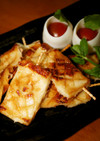 お弁当に✿竹輪でなんちゃってイカ焼き