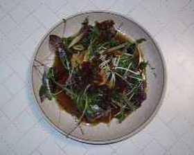鰹のたたきを使った和風カルパッチョ