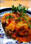 スペアリブとキャベツのトマト煮込み