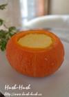 ノンエッグ★かぼちゃの丸ごとプリン★