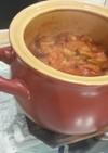 ポットで簡単食べる魚介トマトスープ