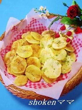 カリッ!レンジde堅焼き風ポテトチップス