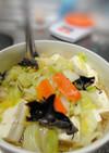 簡単野菜のおかず☆キャベツと豆腐の旨煮