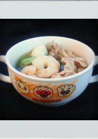 ■糖質制限■白菜豚えび簡単八宝菜スープ鍋