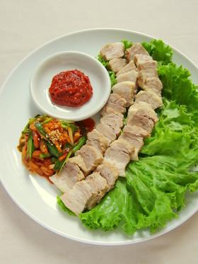 ヘルシー韓国料理☆豚肉のポッサム