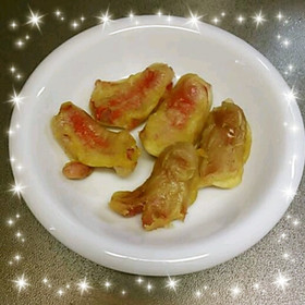 ◎お弁当に ウインナー天ぷら◎