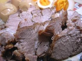 ダシつゆで作る簡単煮豚♪