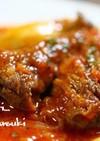 スペアリブとキノコのチリトマト煮込み。