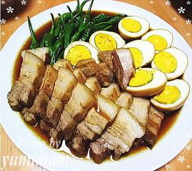 ガッツリ男子に★豚の角煮