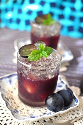 贅沢キラキラ葡萄ゼリー✧赤白ワインゼリー