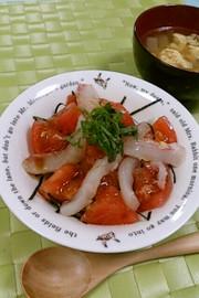 あっさり~絶対美味しい!トマト丼の写真