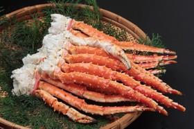 たらば蟹(ボイル)の美味しい食...