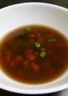 雑穀米のコンソメスープ