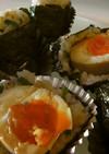 半熟煮卵で丼おにぎりを作ろう!