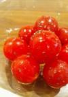 パパっと簡単♪バジルプチトマト