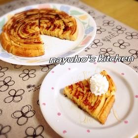 超〜ぐるぐる♪パンみみフレンチトースト