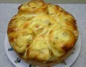 オニオンロールパンの作り方