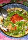 山芋と豆腐の中華風蒸し物