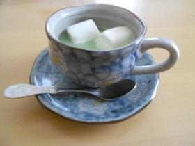 豆乳抹茶ドリンク