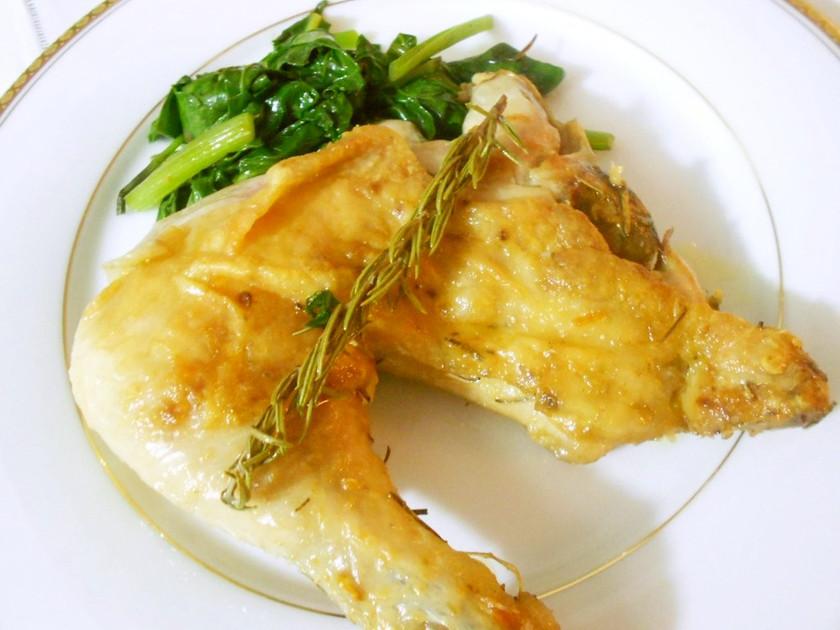 パリビストロの定番~鶏腿肉のコンフィ♡