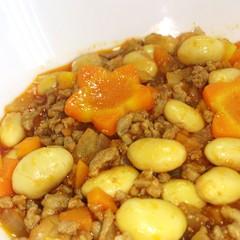 水煮大豆の簡単ケチャップ煮