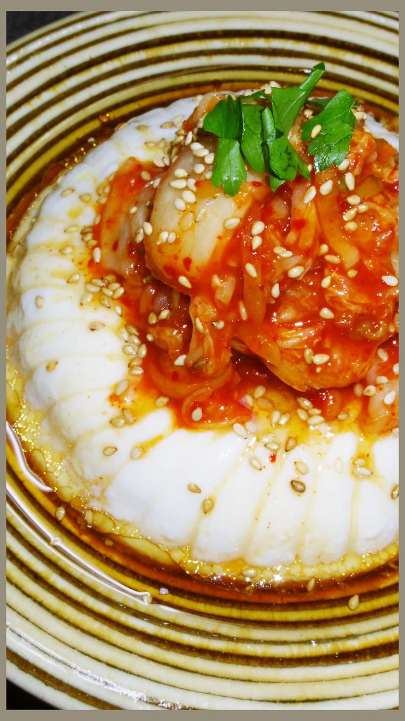 調理師考案!超簡単な韓国風キムチ冷奴