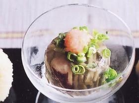 タコと旬菜の煮凍り(にこごり)