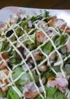 豆ずくし&カニカマのサラダ