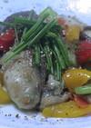 健康法師の牡蠣の炒め物ガーリックオニオン