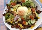 カリカリベーコンon卵シーザーサラダ