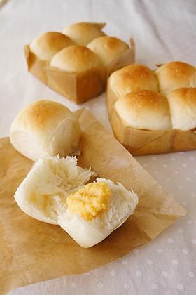 ふんわりミルクパン♪ちぎりパン♪