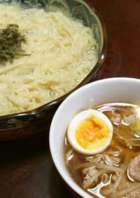 バター香る濃厚簡単つけ麺