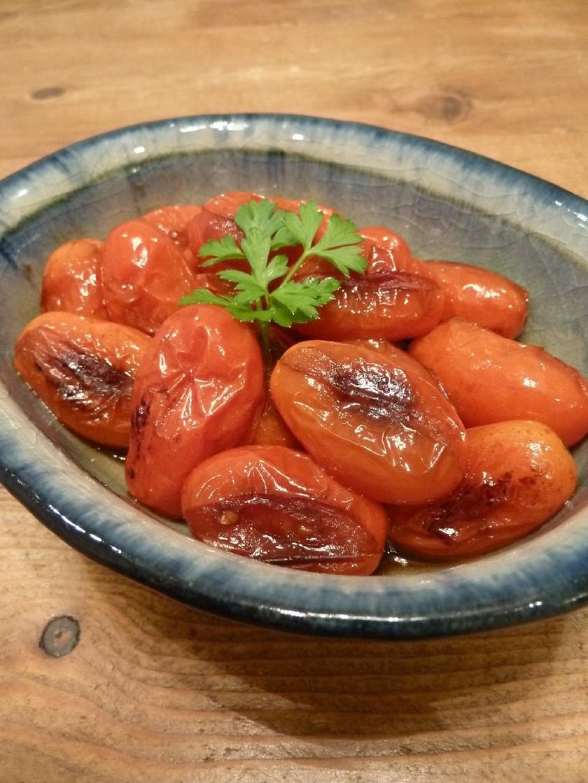 ダイエットに☆焼きトマトのニンニクポン酢