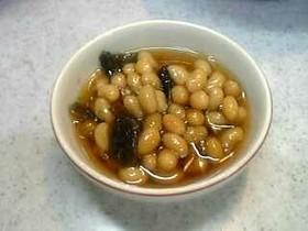 大豆と昆布の煮豆☆昆布豆の煮物