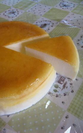 サワークリーム入りスフレチーズケーキ