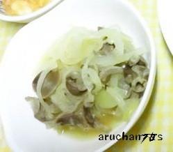 *○●コリッと砂肝の玉葱南蛮酢煮●○*