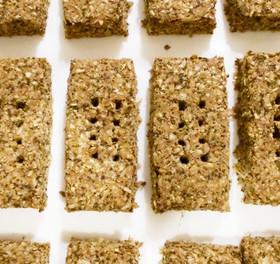 おからと小麦ふすまのハードクッキー