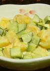 とっても簡単♡柿サラダ